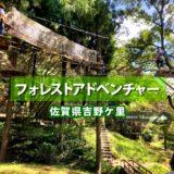 フォレストアドベンチャー佐賀 吉野ケ里 料金とアドベンチャーコース体験