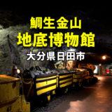 【大分県日田市】鯛生金山 地底博物館 110年前の坑道800mを探検!