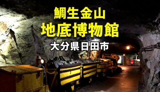 鯛生金山 地底博物館 110年前の坑道800mを探検する洞窟博物館
